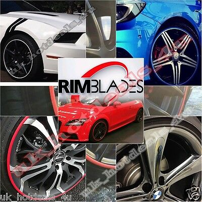 """Genuine Rimblades Alloy Wheel Protection Protector System Set of 4 fit 13""""-22"""""""