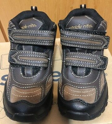stride rite Rugged Ritchie Brown Boys Shoes Size 9.5M; 11.5M