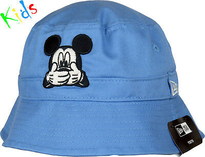 Mickey Mouse New Era Disney Expression Boys Blue Bucket Hat (Ages 0 - 10  years a075279249b4