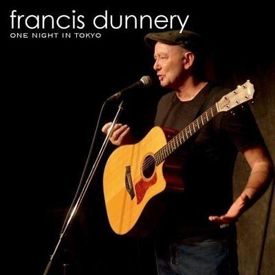 2018 FRANCIS DUNNERY One Night In Tokyo Acoustic Live JAPAN 2 UHQ CD Japan