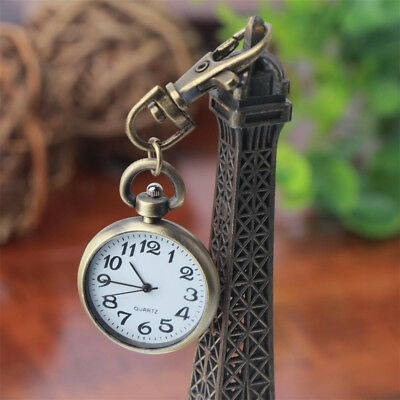 Vintage Keychain Dial Pocket Watches Keyring Key Chain Pocket Watch Movement