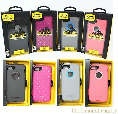 """Otterbox Defender Case w/ Clip Holster for iPhone 8 & iPhone 7 4.7"""" - NEW !!!"""