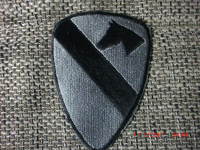 Original US ACU patch 1st Cavalry Division, Army