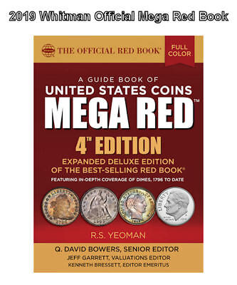 2019 Red Book MEGA, Guide Book of U.S. Coins Deluxe 4th Ed,In Stock Shipping NOW