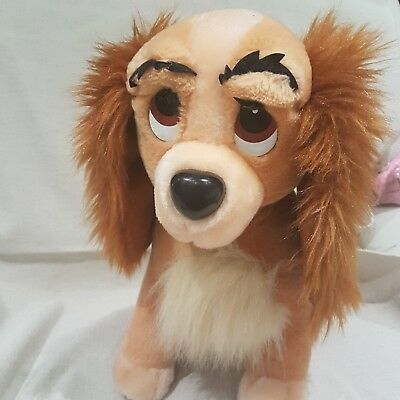 Disney Store Original Lady Plush Soft Toy From Lady And The Tramp large