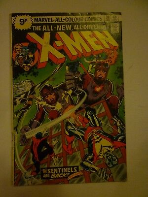 Uncanny X-Men #98 1st Appearance Sentinels Mk III Marvel Comics 1976