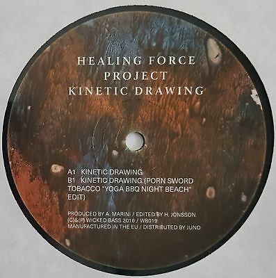 """Healing Force Project - Kinetic Drawing - 12"""" Vinyl - Wicked Bass"""