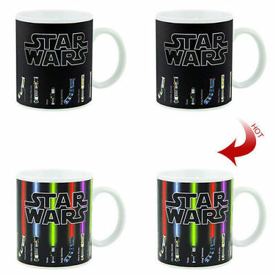 Star Wars Lightsaber Heat Color Changing Magic Mug Coffee Tea CUP