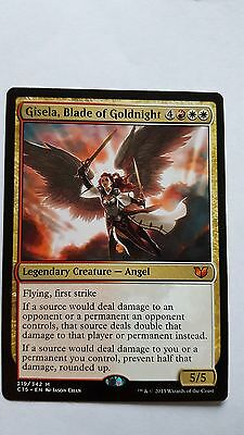 1x GISELA, BLADE OF GOLDNIGHT - Commander/M25 - MTG - NM - Magic the Gathering