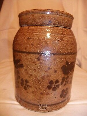 Nicholas Mosse Rare Collectible Glazed Stoneware Jar with lid.