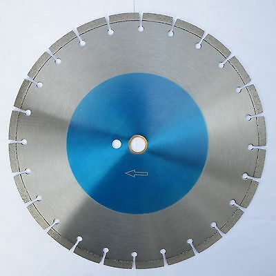 """10pcs 14-IN x .125"""" x 1""""-20mm Industrial LASER WELDED DIAMOND BLADES for All Saw"""