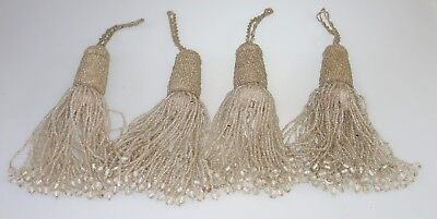 Antique Fancy Tassels For Furniture Or Curtain Tiebacks Or Armoire Pulls