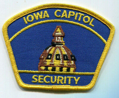 Iowa Capitol Security Patch // FREE US SHIPPING! // Police