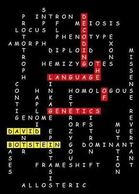 Decoding the Language of Genetics by David Botstein (2015, Hardcover)