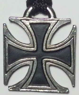 MOTORHEAD Maltese Iron Cross PENDANT NECKLACE metal punk rock n roll heavy hard