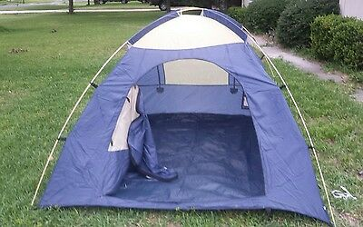 Greatland Outdoors 2-person square dome tent & GREATLAND OUTDOORS 4-person square dome tent 9x9x5 Eureka ...