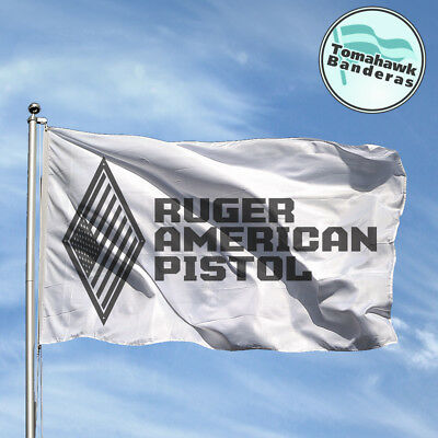 Bandera Flag RUGER AMARICAN PISTOL Flagge Fahne Bandiere