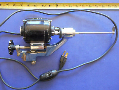 Sargent Welch Variable Speed Cone Drive Overhead Mixer / Stirrer * Bodine Motor