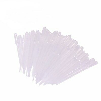 100- 3ml Durable Dropper Transfer Graduated Pipettes Disposable Plastic USA Sale