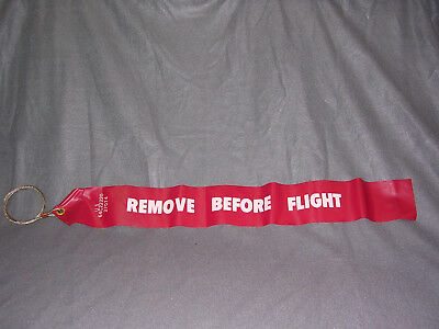 """""""Remove Before Flight"""" Streamer and Cable"""
