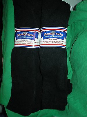 3,6,12 Casual,solid Over Calf Physicians Choice Black Diabetic 9-11,10-13,13-15