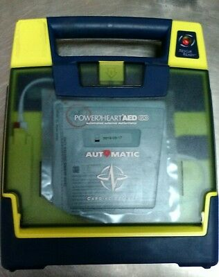 Cardiac Science PowerHeart G3 Automatic AED w/ pads, no battery model 9300A-501