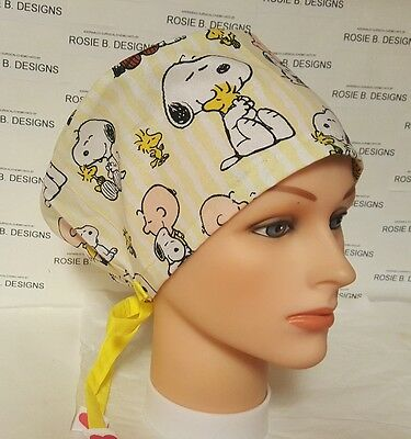 Snoopy  / Pixie Hat/ Scrub Surgical/ Medical/ Chemo Caps /nurses/or/drs
