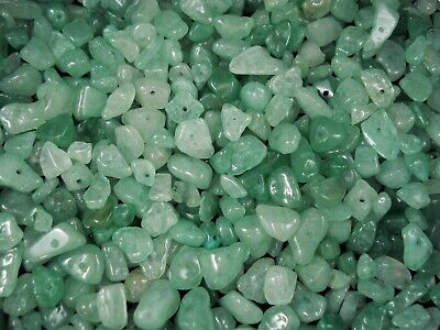 Gemstone Chips 50g Green Aventurine Loose Beads Jewellery Jewelry FREE POSTAGE
