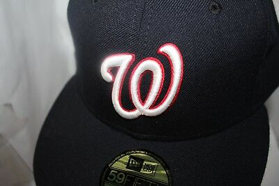 best authentic 56971 70055 Washington Nationals MLB New Era Authentic Collection Alt. 2 59Fifty,Cap,Hat