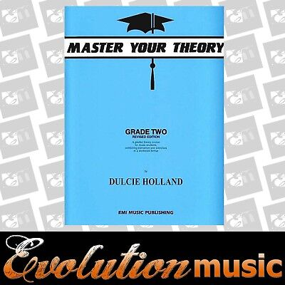 Master Your Theory - Grade 2 / Two Revised Edition - Dulcie Holland  New