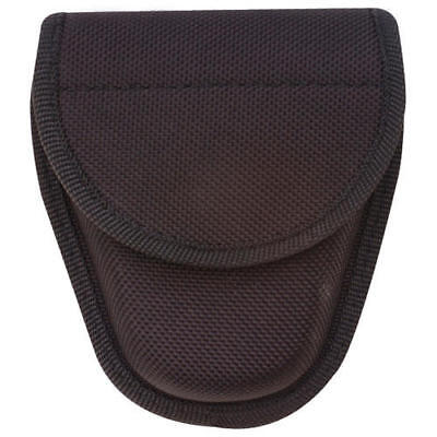 "Tru-Spec 9035000 Black Single Hidden Snap Nylon Handcuff Case 5-1/2"" x 4"""