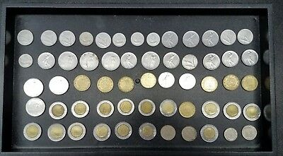 Lot Of 58 Modern Coins Of Italy  #f35