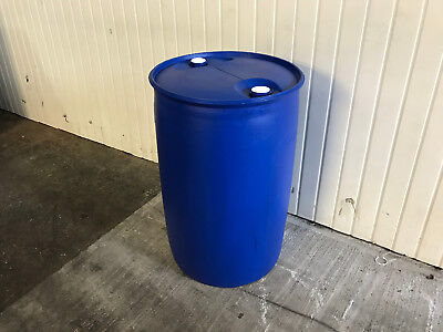 Reconditioned 200 Litre Plastic Drums - Water/Liquid/Storage Containers