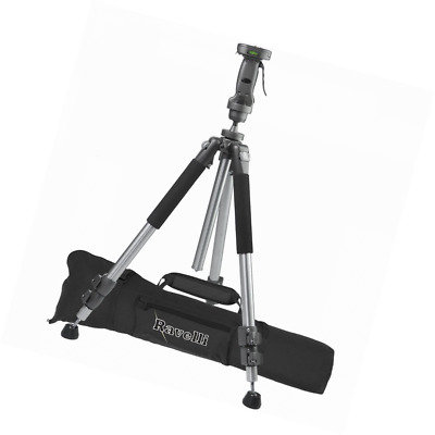 """Ravelli APGL4 New Professional 70"""" Tripod with Adjustable Pistol Grip Head and H"""