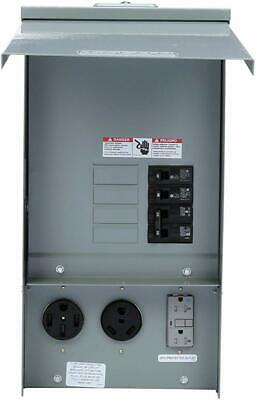 Rv Electrical Outlet >> Eaton Heavy Duty Power Outlet Panel Unmetered 50 Amp Rv