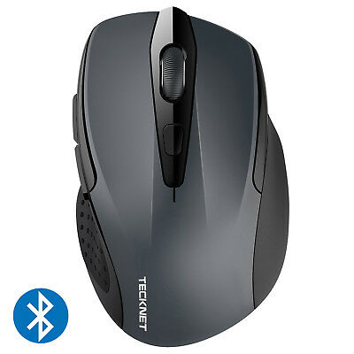 Bluetooth Wireless Mouse with 6 buttons DPI Adjustable for PC Laptop Tablet