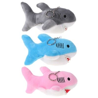 Cartoon Shark Plush Toys Stuffed Animals Kids Baby Toy Keychain Children Gift