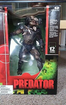 "RARE McFarlanes AVP Alien vs Predator 12"" PREDATOR Action Figure UNOPENED"