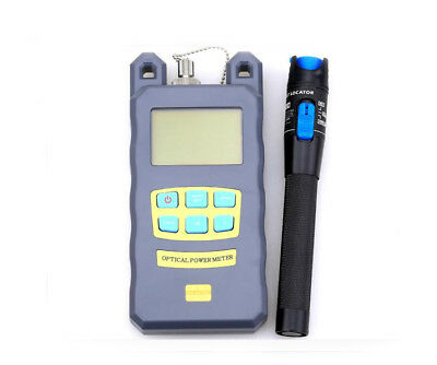 FTTH 1MW Fiber Visual Fault Locator Tester Optical Power Meter FC SC -70~+10dBm