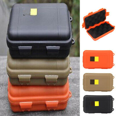 Waterproof Shockproof Plastic Outdoor Survival Container Storage Case Box SD