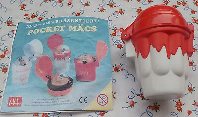Pocket Mäcs 1996 McDonald´s Happy Meal Werbefigur Spielzeug Retro Kult Rar