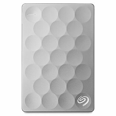 Seagate Festplatte 1000GB Backup Plus Ultra Slim 2,5 Zoll extern USB 3.0 2.0 1TB