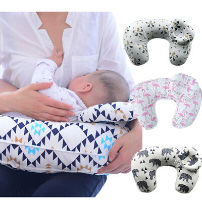 Infant Baby Newborn U-Shaped Breastfeeding Soft Pillow Nursing Maternity Support