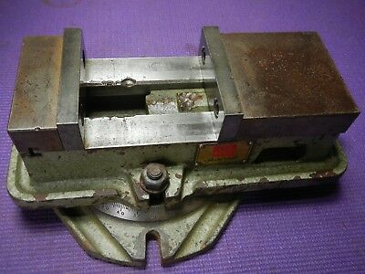 """AUTOWELL 4"""" or 105 MM JAWS - SWIVEL BASE - ANGLOCK MILLING VICE"""