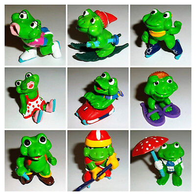 Frosty Froggies / Ranopla 1992-94 * Kinder Surprise figures & toys