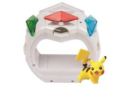 Pokemon Z-Ring for Nintendo Pokemon Sun - Includes Pikachu and Moon Video Game