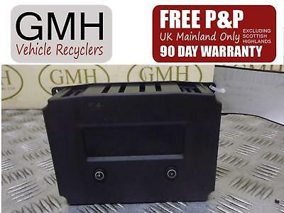 Vauxhall Vectra C Digital Radio Clock Display Unit 32 Pin 585412769  2002-2009 ~
