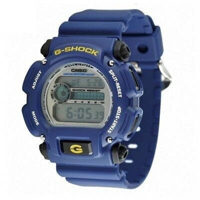 Casio G-Shock DW-9052-2V Blue Digital Mens Watch Illuminator Stopwatch DW-9052