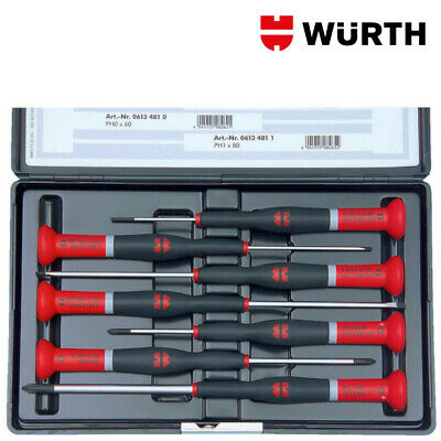 Set Cacciaviti di Precisione Professionali Kit 7pz - WÜRTH