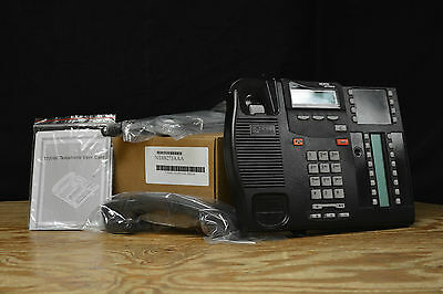 Norstar Nortel Avaya T7316E Charcoal Refurbished Phone Free Freight